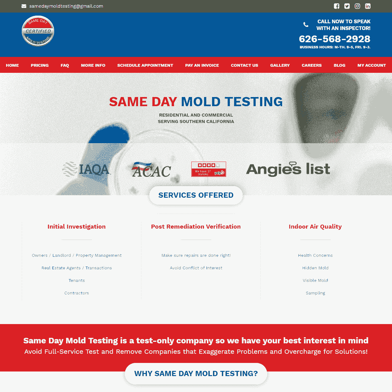 Same Day Mold Testing, Inc.