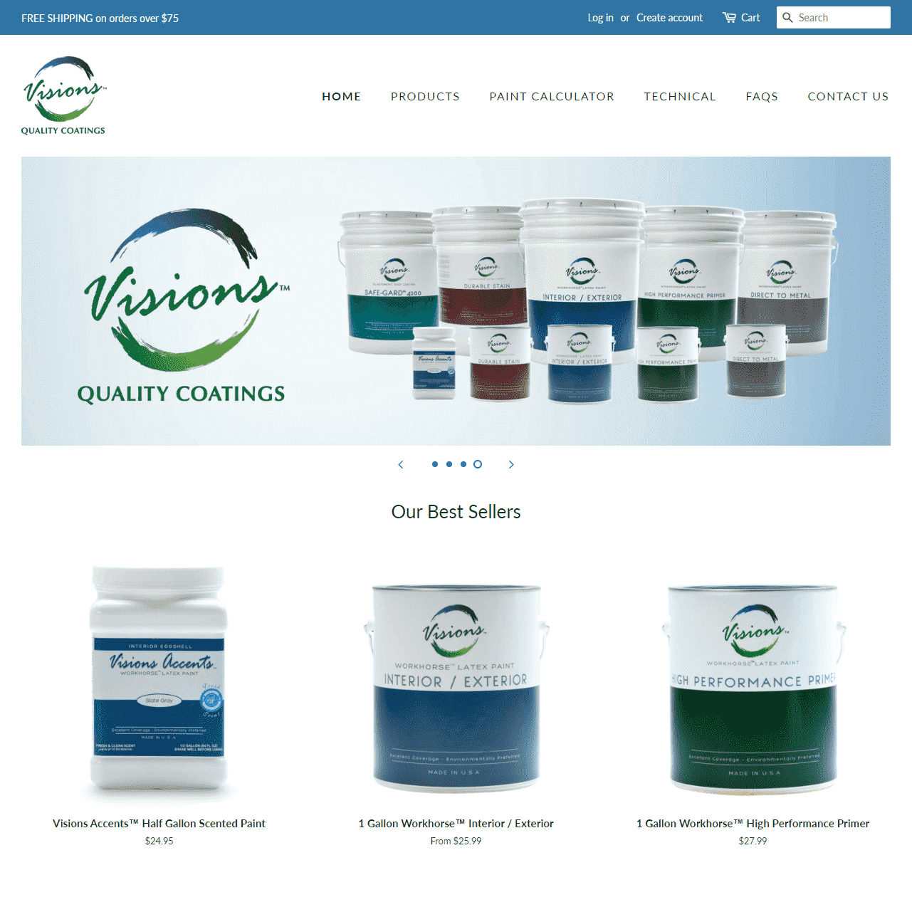 Visions Quality Coatings Shop